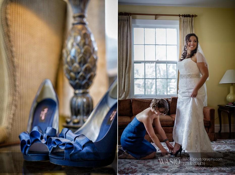 WASIO-Chicago-Wedding-Photography-0040-cantigny-cottage-bride-getting-ready-blue-shoes-931x696 Cantigny Park Wedding - Danielle+David