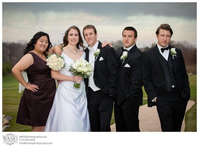 WASIO-photography-Chicago-Wedding-Photographer_021-fun-wedding-party-picture-680x499 A Beautiful Wedding @ Bull Valley Golf Club - Angela + John