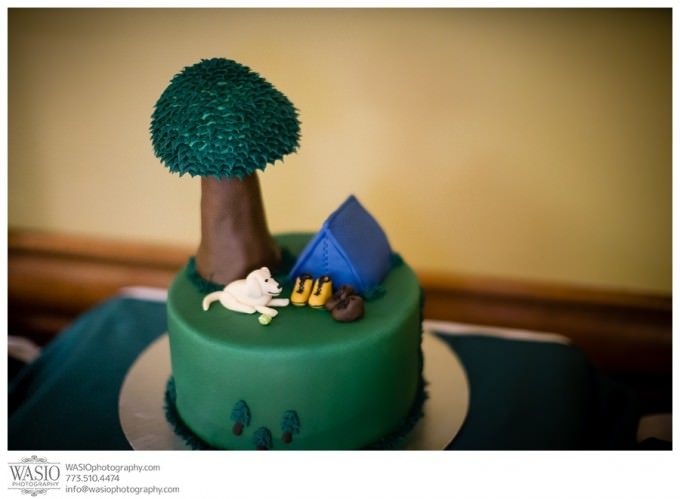 WASIO-photography-Chicago-Wedding-Photographer_027-custom-wedding-cake-680x499 A Beautiful Wedding @ Bull Valley Golf Club - Angela + John