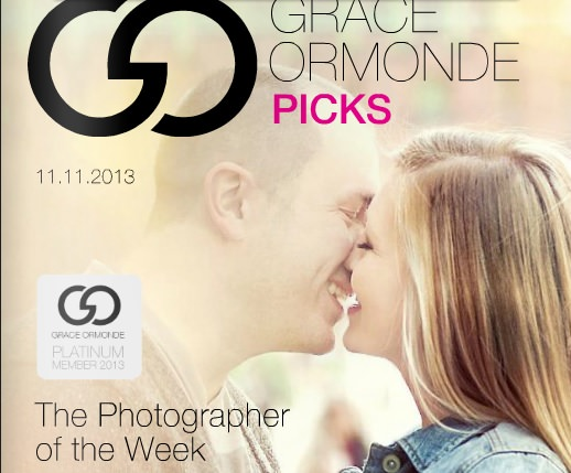 Grace Ormonde – Wedding Style Magazine – Photographer of the Week