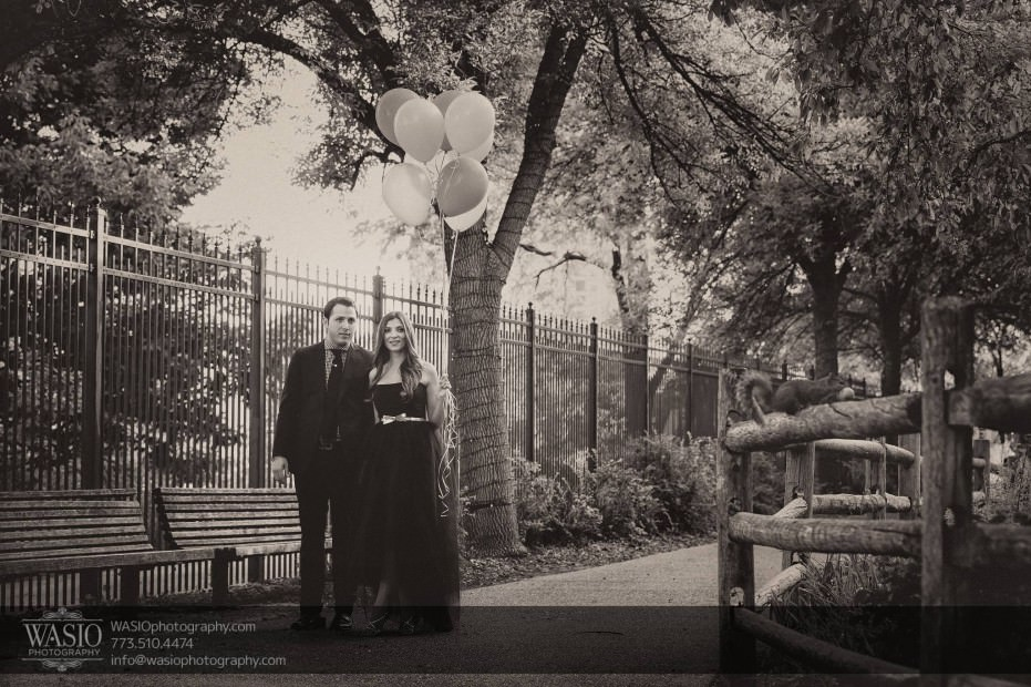 WASIO-photography-Lincoln-Park-Engagement-Photos-black-white-romantic-walking-007-931x620 Lincoln Park Engagement Photos - Patricia + Jonas