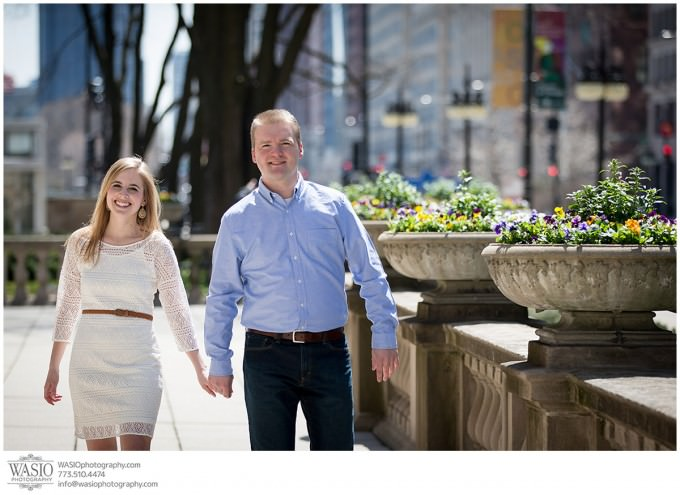 WASIO-photography-engagement-session-art-institute-11-urban-fun-couple-680x495 Engagement Pictures at The Art Institute Gardens - Lauren+Nick