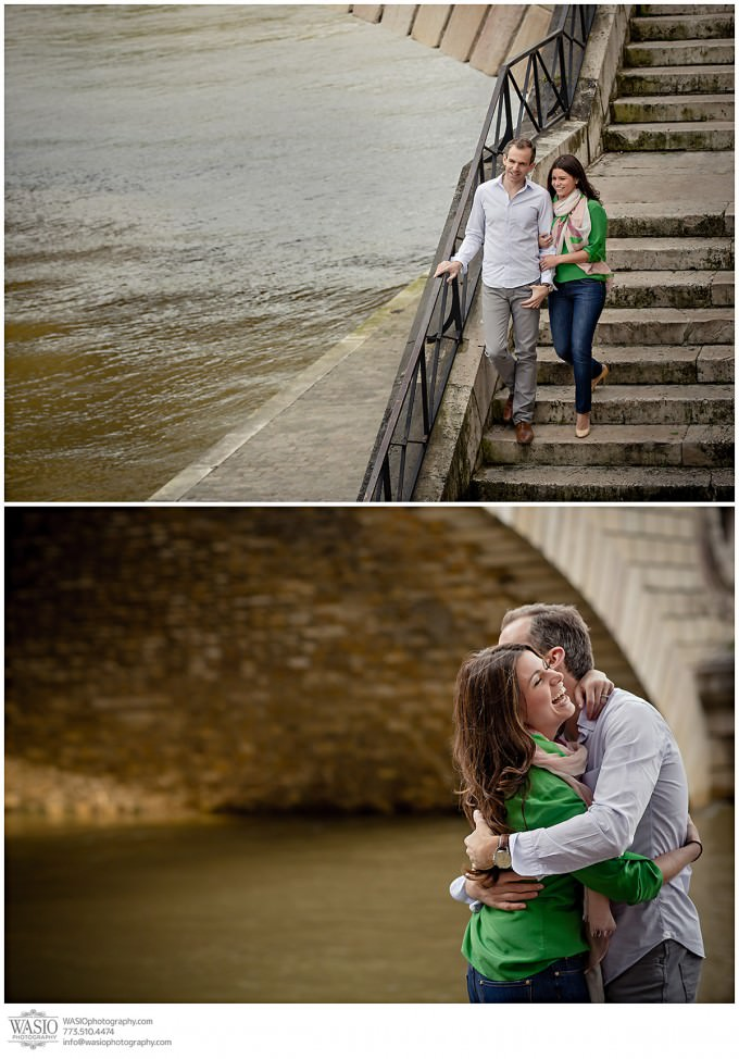 WASIO-photography-wedding-destination-engagement-paris-45-river-love-kiss-680x974 Destination Engagement Photography in Paris - Sarah+Richard
