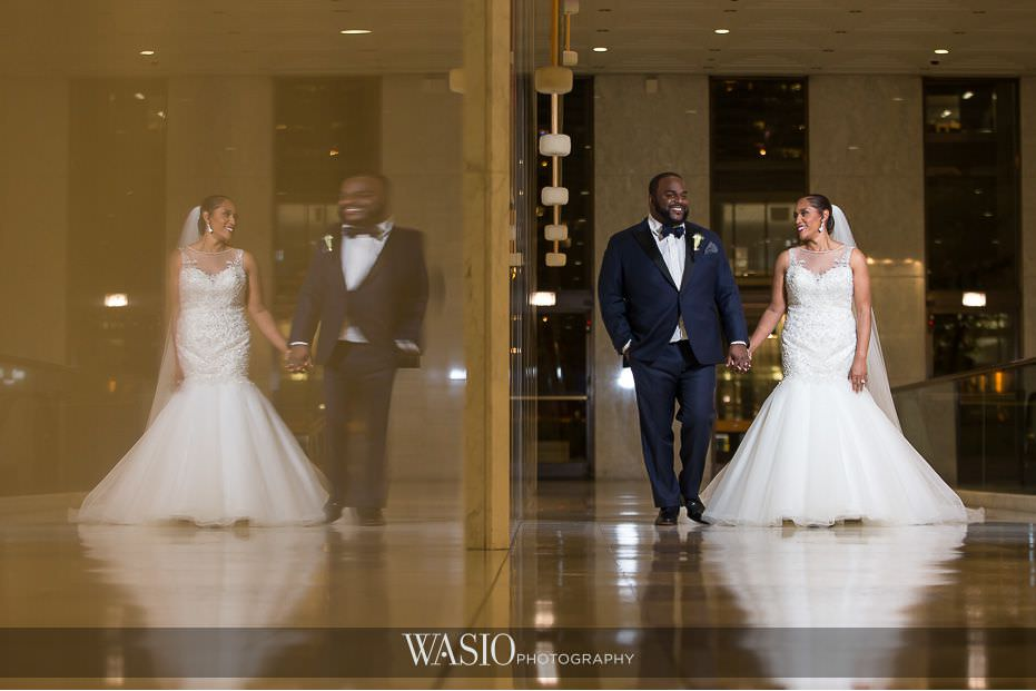 Winner-of-The-Knot-2017-Best-of-Weddings-aon-center-bride-groom-portrait-60 Winner of The Knot 2017 Best of Weddings