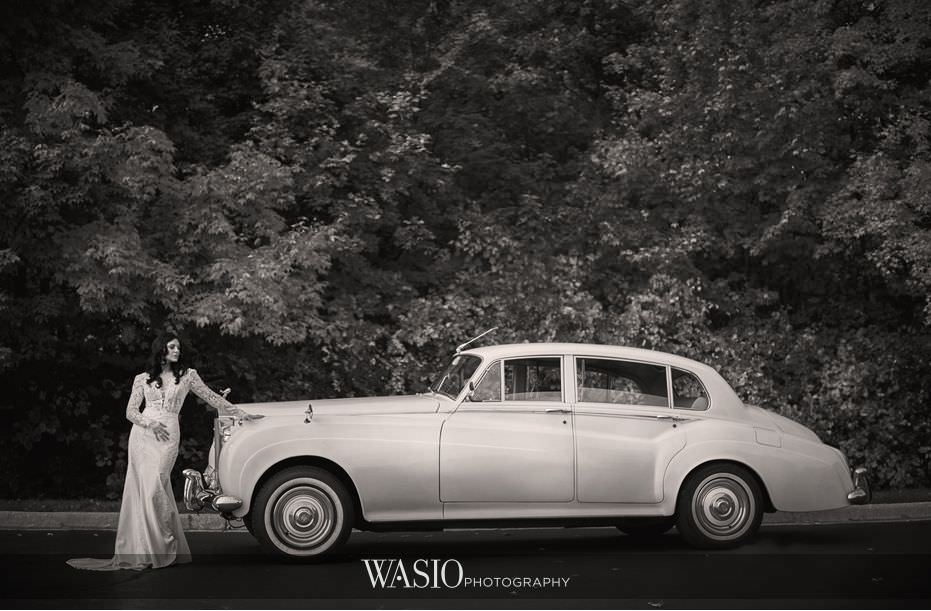 Winner-of-The-Knot-2017-Best-of-Weddings-black-white-photography-classic-bride-portrait-vintage-car-56 Winner of The Knot 2017 Best of Weddings