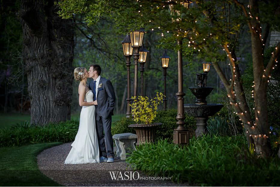 Winner-of-The-Knot-2017-Best-of-Weddings-the-grove-sunset-portrait-kissing-lights-outdoor-63 Winner of The Knot 2017 Best of Weddings