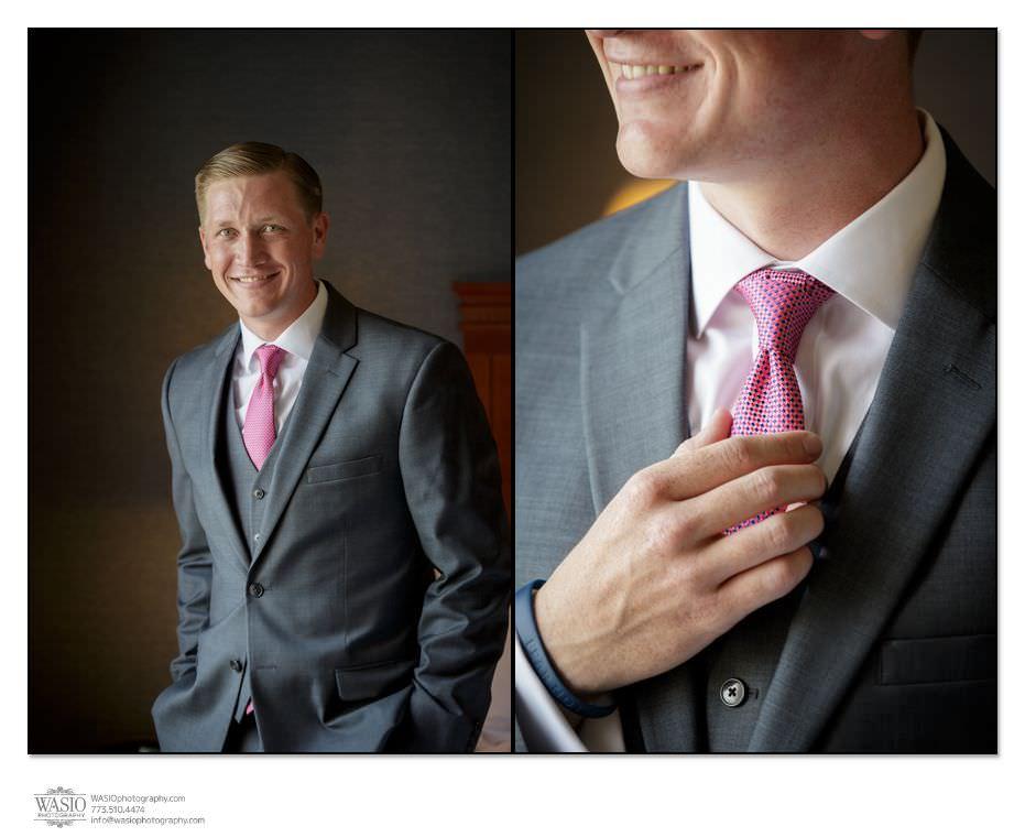 Wynstone-Golf-Club-Wedding-blog-groom-preparation-pink-tie-detail-3 Wynstone Golf Club Wedding - Jen + Steve