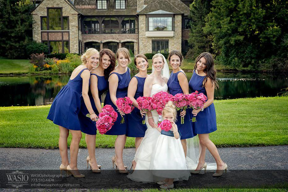 Wynstone-Golf-Club-Wedding-bridal-party-pink-flowers-navy-dresses-69-Edit Wynstone Golf Club Wedding - Jen + Steve