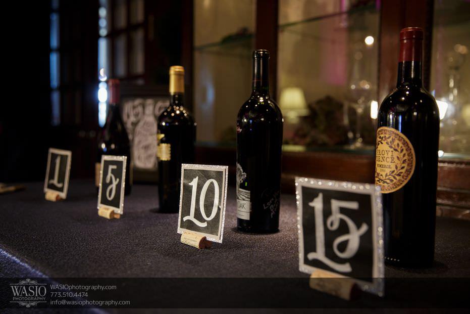 Wynstone-Golf-Club-Wedding-guest-sign-in-wedding-bottles-fun-idea-07 Wynstone Golf Club Wedding - Jen + Steve
