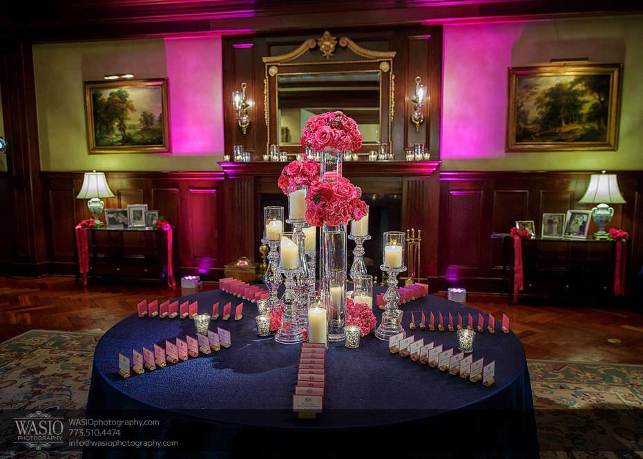 Wynstone-Golf-Club-Wedding-reception-decor-pink-blue-theme-98 Wynstone Golf Club Wedding - Jen + Steve