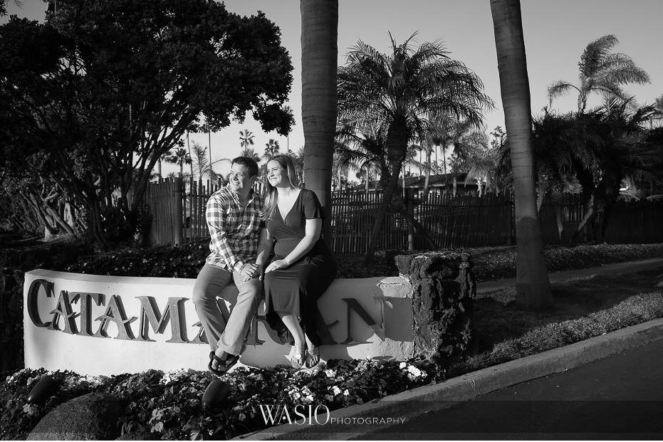 catamaran-resort-hotel-wedding-black-white-portrait-classic-72 Catamaran Resort Hotel Wedding - Anna and Andy