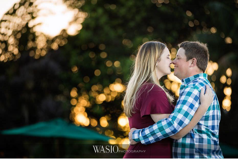 catamaran-resort-hotel-wedding-sunset-portrait-kissing-cute-couple-75 Catamaran Resort Hotel Wedding - Anna and Andy