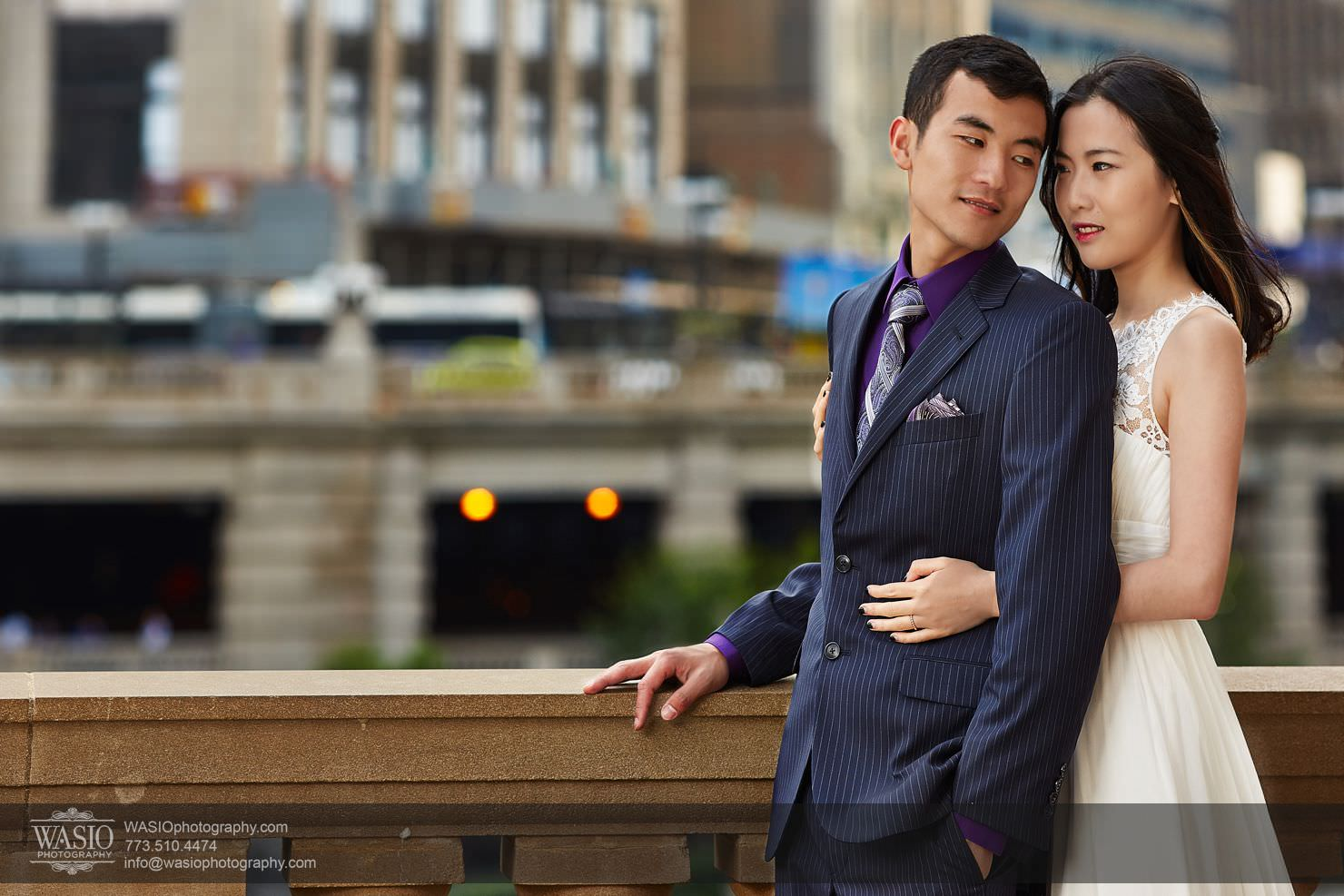 chicago-sunset-engagement-session-downtown-destination-001022 Chicago Sunset engagement - Yulin & Mika