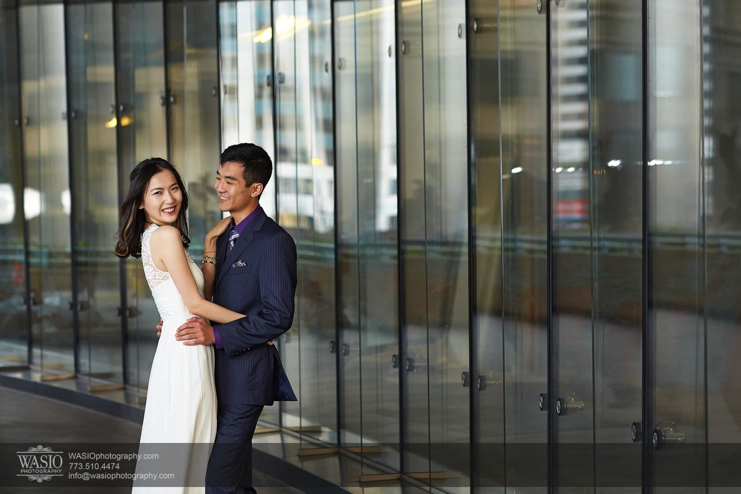 chicago-sunset-engagement-session-downtown-destination-001024 Chicago Sunset engagement - Yulin & Mika