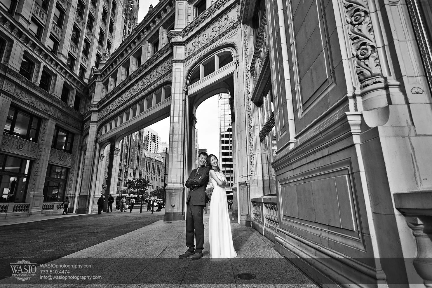 chicago-sunset-engagement-session-downtown-destination-001025 Chicago Sunset engagement - Yulin & Mika
