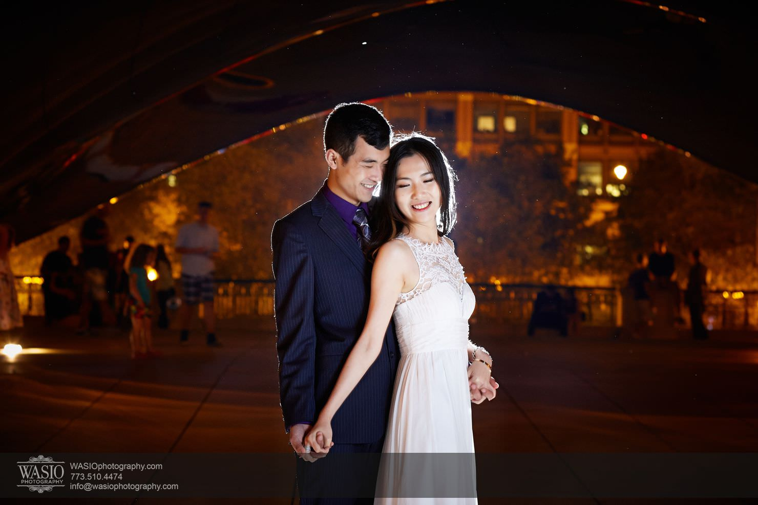 chicago-sunset-engagement-session-downtown-destination-001031 Chicago Sunset engagement - Yulin & Mika