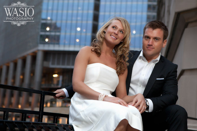 chicago-trump-tower-engagement-photography Chicago Engagement Photography - Julie + Caleb