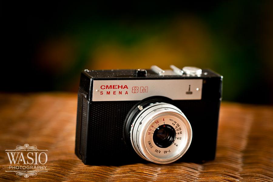 Russian Cmena 8 – my first camera