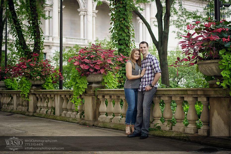 destination-engagement-beautiful-Chicago-summer-session-46 Destination Engagement - Courtney and Mitch