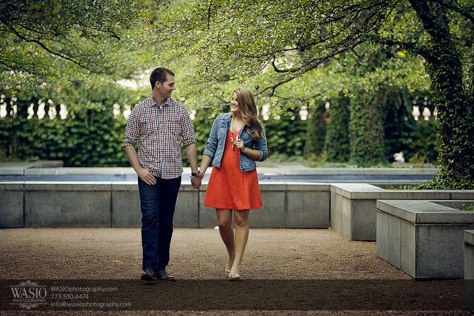 destination-engagement-photos-Chicago-art-institute-36 Destination Engagement - Courtney and Mitch