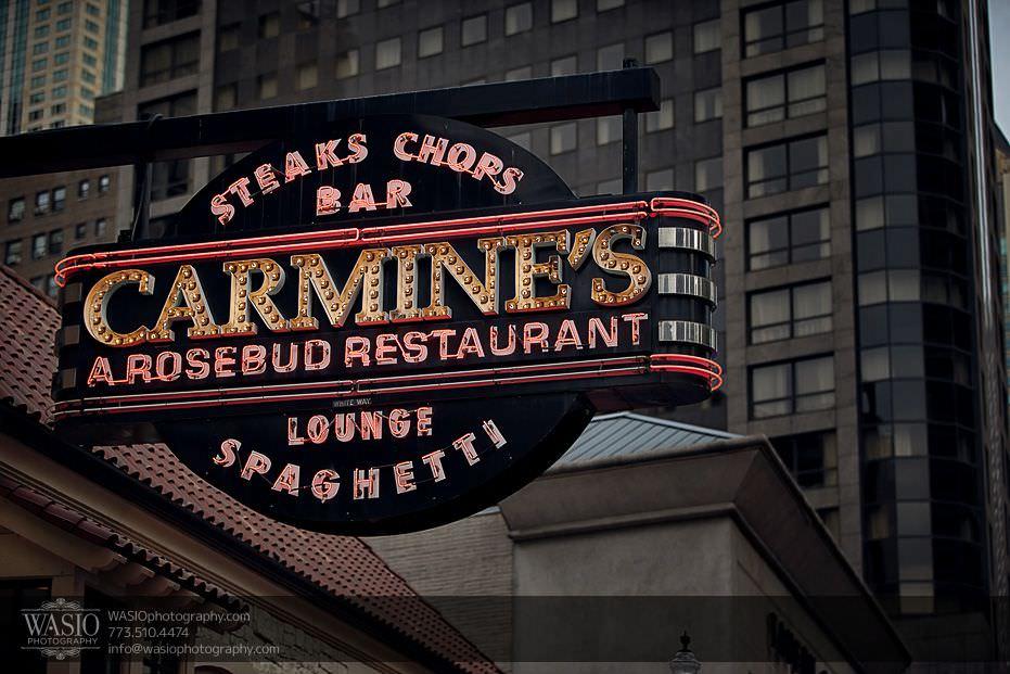 engagement-photo-ideas-carmines-restaurant-viagra-traingle-downtown-chicago-0715 Engagement Photo Ideas - Monica + Stephen