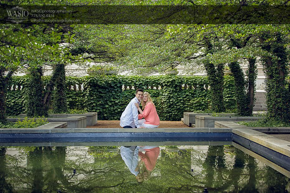 engagement-photos-art-institute-romantic-0712 Engagement Photos - Diana + Michael