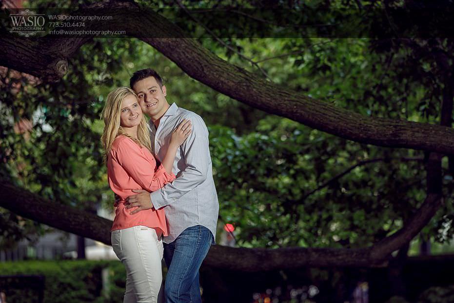 engagement-photos-nature-hug-fun-0707 Engagement Photos - Diana + Michael