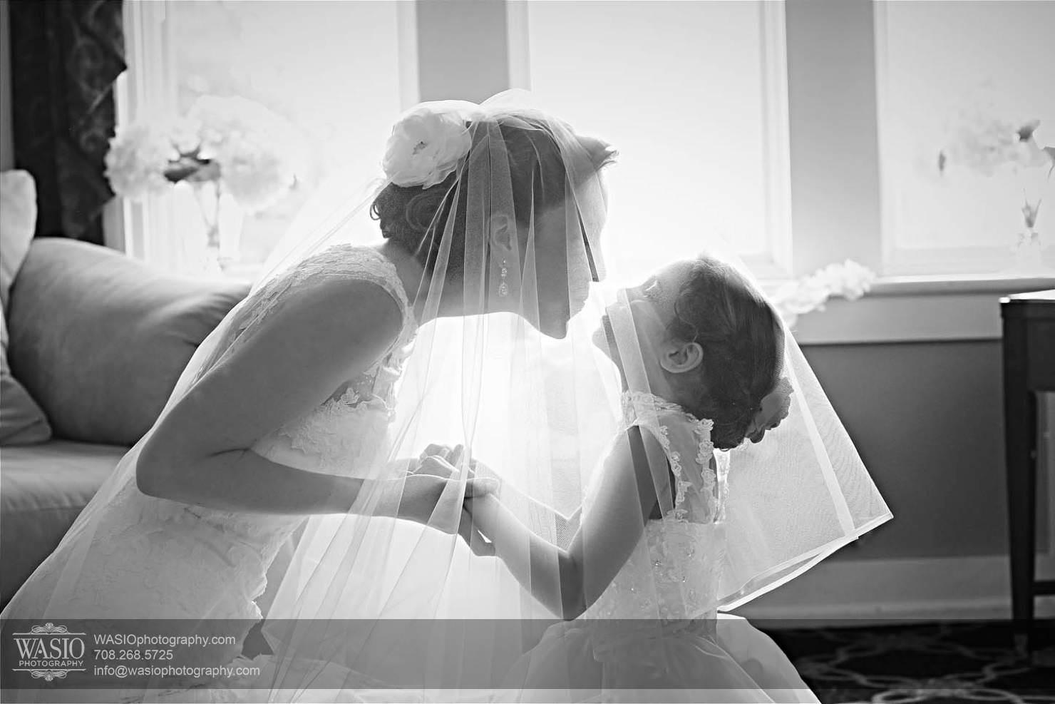 flower-girl-vail-wedding Chevy Chase Country Club Wedding - Elizabeth & Michael