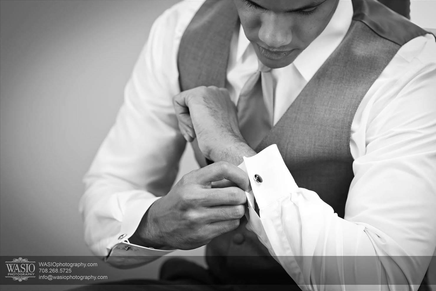 groom-preparation Chevy Chase Country Club Wedding - Elizabeth & Michael