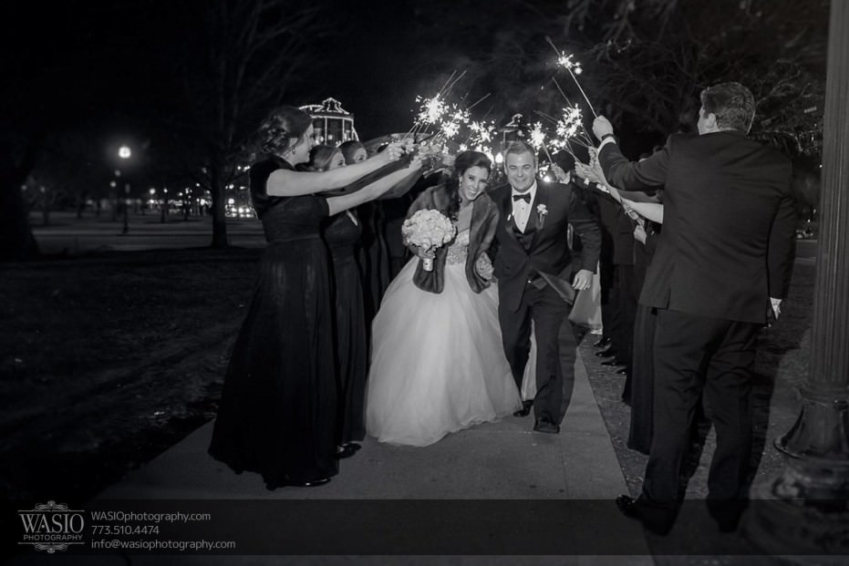 knickerbocker-hotel-wedding-new-years-eve-sparklers-fun-excitement-navy-pier-25-931x621 Knickerbocker Hotel Wedding - Carrie + John