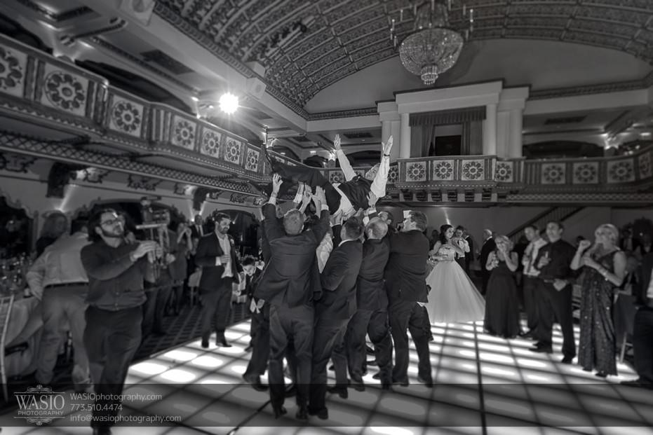 knickerbocker-hotel-wedding-wild-party-groom-in-air-33-931x621 Knickerbocker Hotel Wedding - Carrie + John