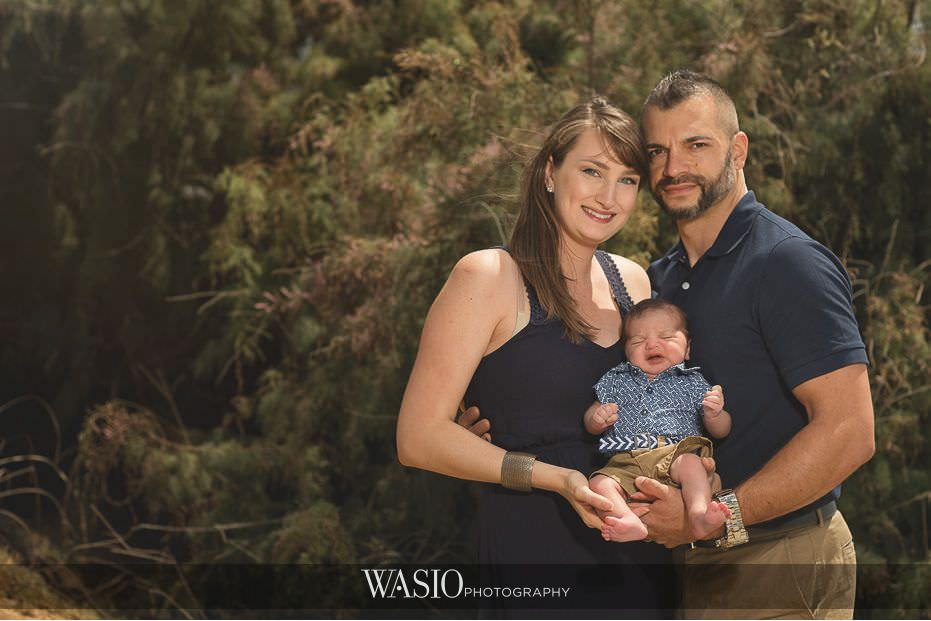 La Jolla Family Photography With Newborn Baby Boy