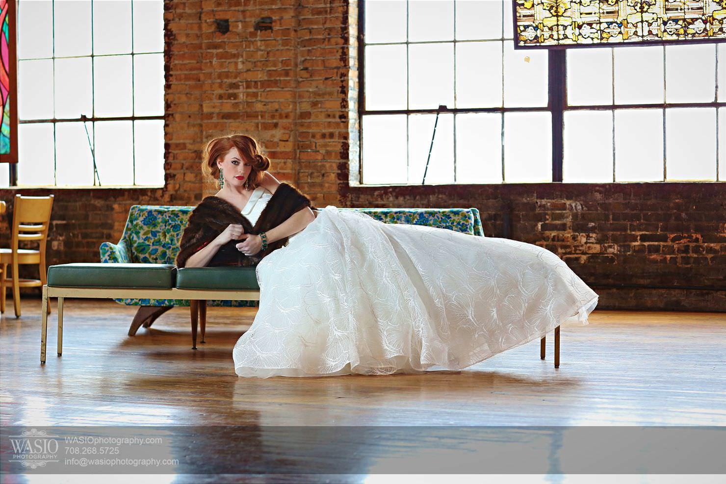 salvage-one-bride-portrait Salvage One - Chicago Vintage Bride