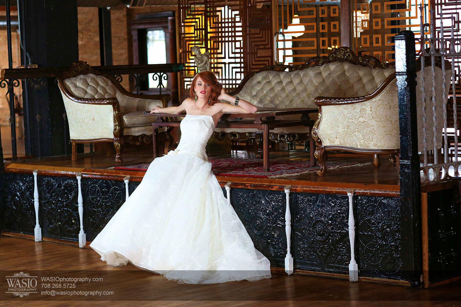 salvage-one-classy-bride-redhead Salvage One - Chicago Vintage Bride