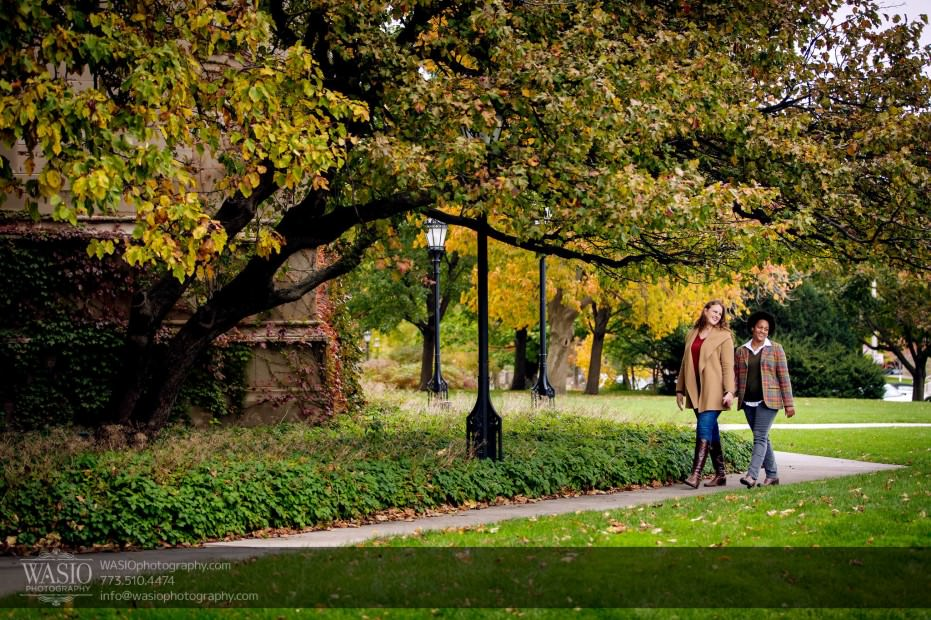 same-sex-engagement-nature-romantic-walking-_39-931x620 University of Chicago same sex engagement - Olivia + Givonna