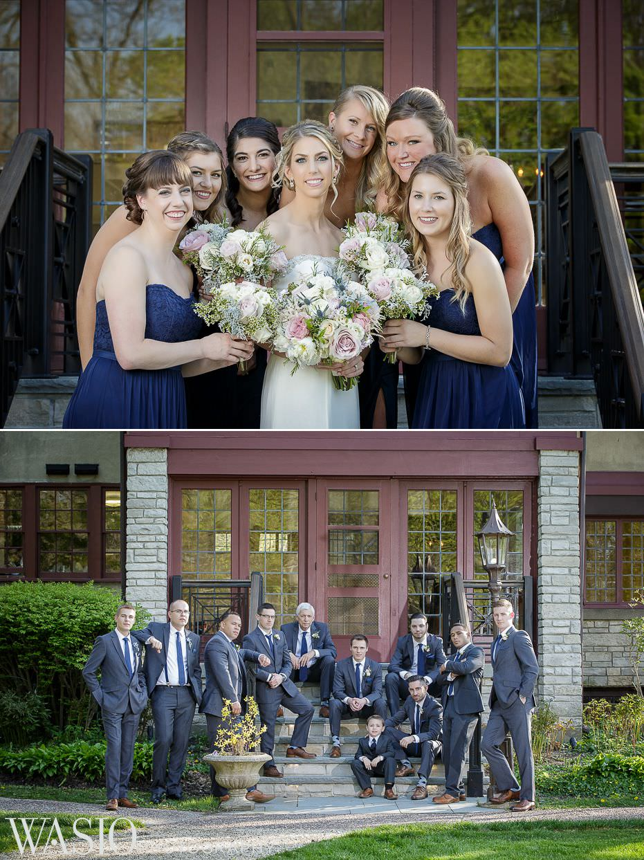 the-grove-redfield-estate-wedding-bridal-and-groomsmen-party-outdoor-spring-47 The Grove Redfield Estate Wedding - Sam and Marcin