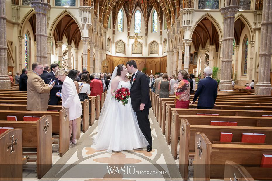 the-knot-best-of-weddings-hall-of-fame-blog-Holy-Name-Cathedral-Chicago-Ceremony-bride-groom-47 The Knot Best of Weddings Hall of Fame - WASIO Photography