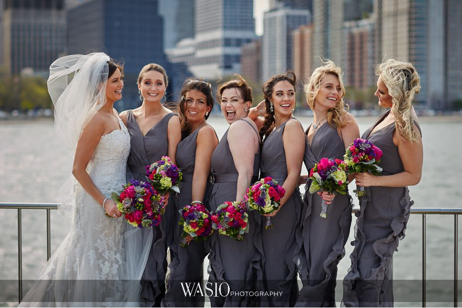 the-knot-best-of-weddings-hall-of-fame-blog-Olive-park-bridal-party-portraits-spring-colors-windy-city-19 The Knot Best of Weddings Hall of Fame - WASIO Photography