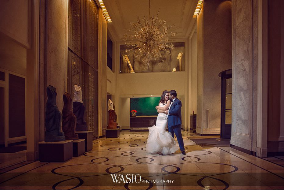 the-knot-best-of-weddings-hall-of-fame-blog-Waldorf-astoria-Chicago-wedding-Yanni-vera-wang-bride-groom-portraot-55 The Knot Best of Weddings Hall of Fame - WASIO Photography