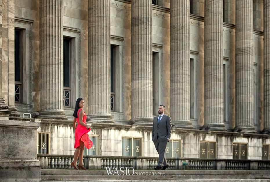 the-knot-best-of-weddings-hall-of-fame-blog-field-museum-engagement-photography-red-dress-34 The Knot Best of Weddings Hall of Fame - WASIO Photography