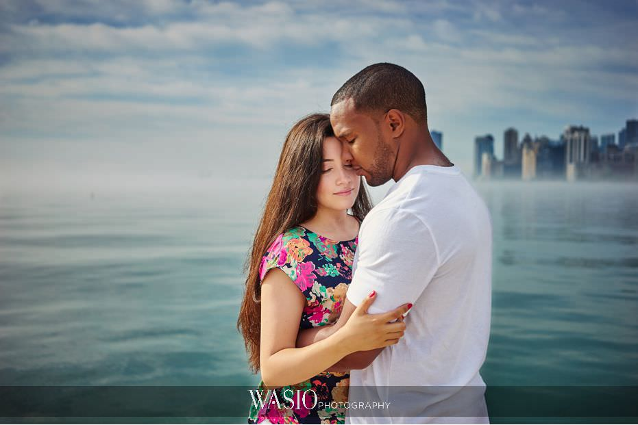 the-knot-best-of-weddings-hall-of-fame-blog-intimate-sunrise-north-avenue-beach-engagement-session-31 The Knot Best of Weddings Hall of Fame - WASIO Photography