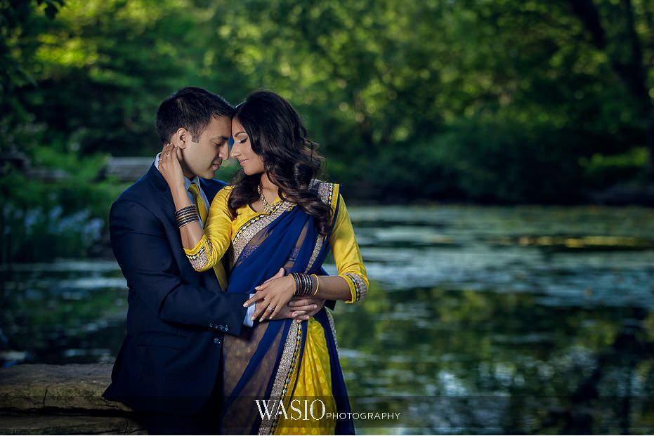 the-knot-best-of-weddings-hall-of-fame-blog-lincoln-park-lilly-pond-indian-engagement-session-save-the-date-photo-24 The Knot Best of Weddings Hall of Fame - WASIO Photography