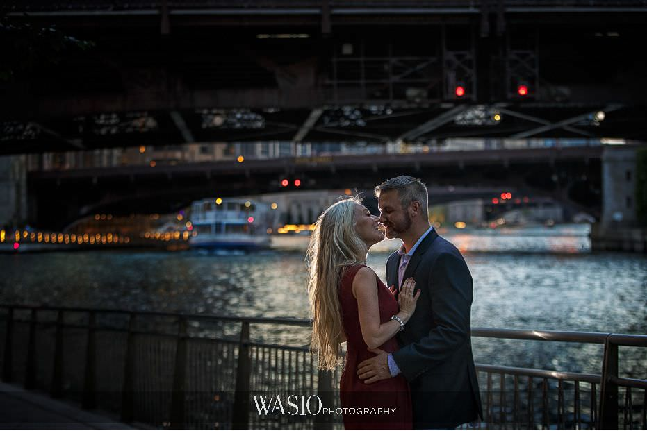 the-knot-best-of-weddings-hall-of-fame-blog-river-walk-sunset-engagement-photography-chicago-30 The Knot Best of Weddings Hall of Fame - WASIO Photography