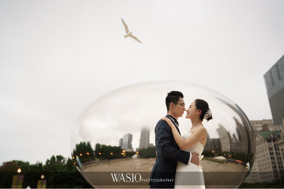 the-knot-best-of-weddings-hall-of-fame-blog-sunrise-pre-wedding-session-the-bean-chicago-destination-36 The Knot Best of Weddings Hall of Fame - WASIO Photography