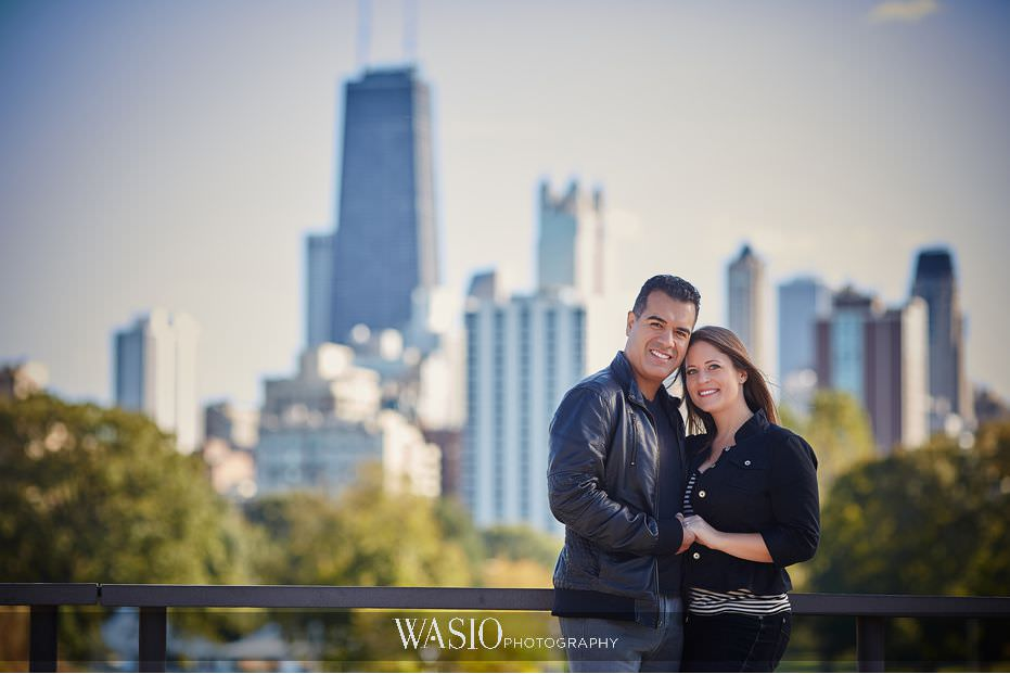 the-knot-best-of-weddings-hall-of-fame-lincoln-park-zoo-Chicago-skyline-engagement-photography-ideas-blog-7 The Knot Best of Weddings Hall of Fame - WASIO Photography