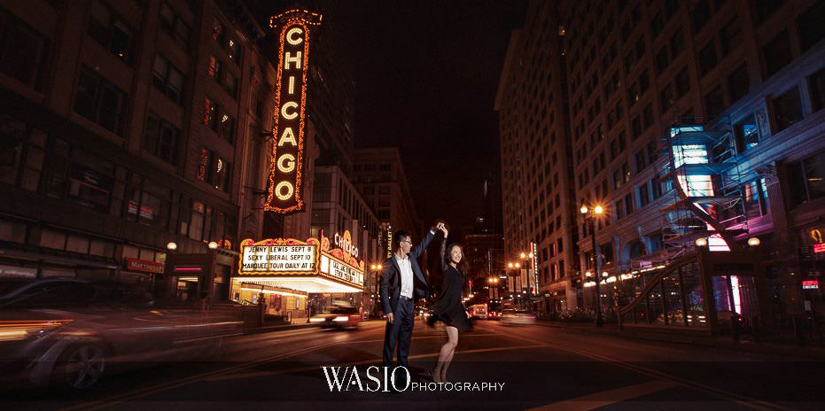 the-knot-best-of-weddings-hall-of-fame-pre-wedding-session-chicago-theater-sunset-fun-photo-engagement-asian-blog-4 The Knot Best of Weddings Hall of Fame - WASIO Photography