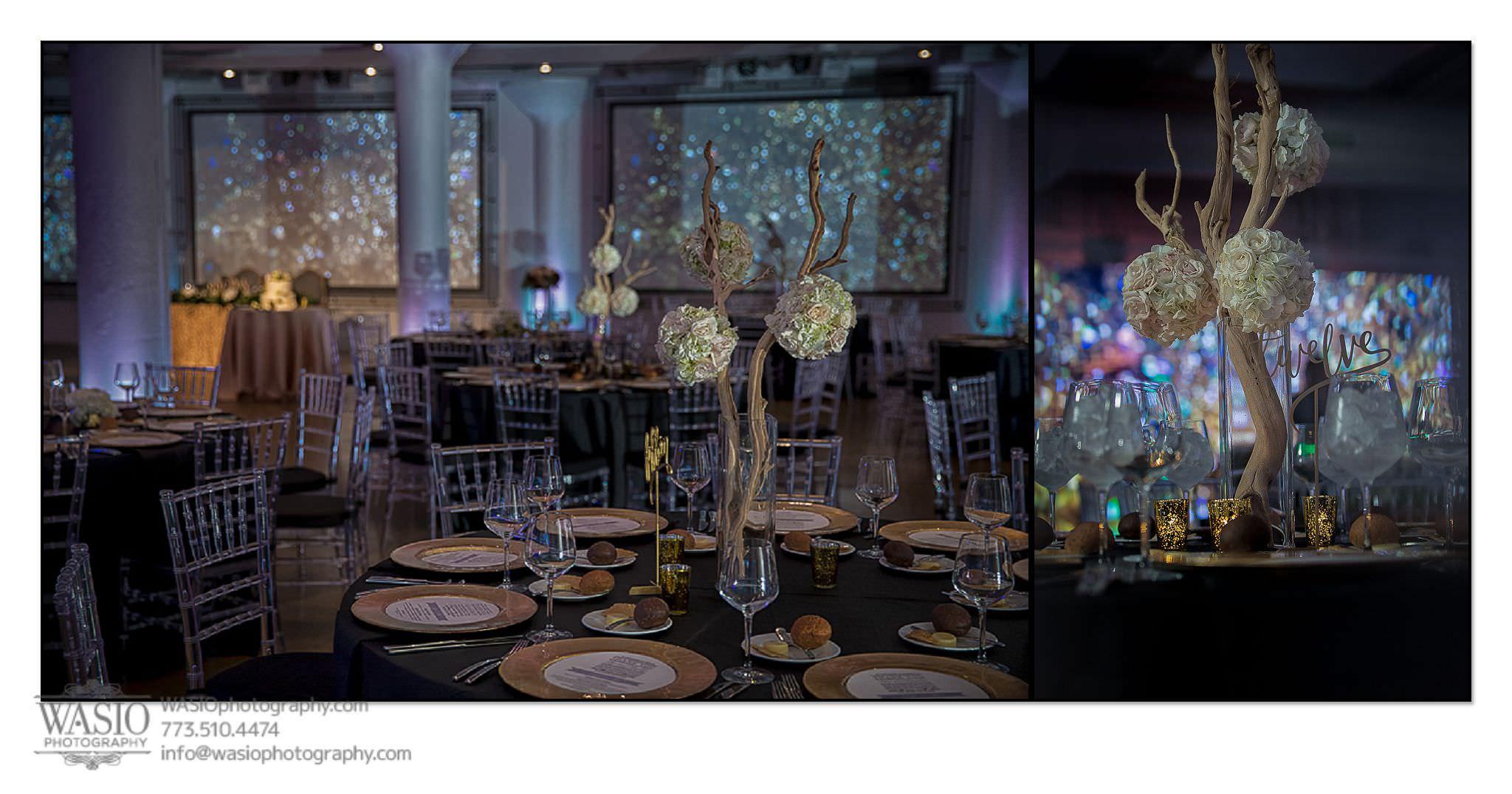 venue-one-chicago-wedding-detail-room-photos-flowers55 Venue One Chicago Wedding - Katie + Mike