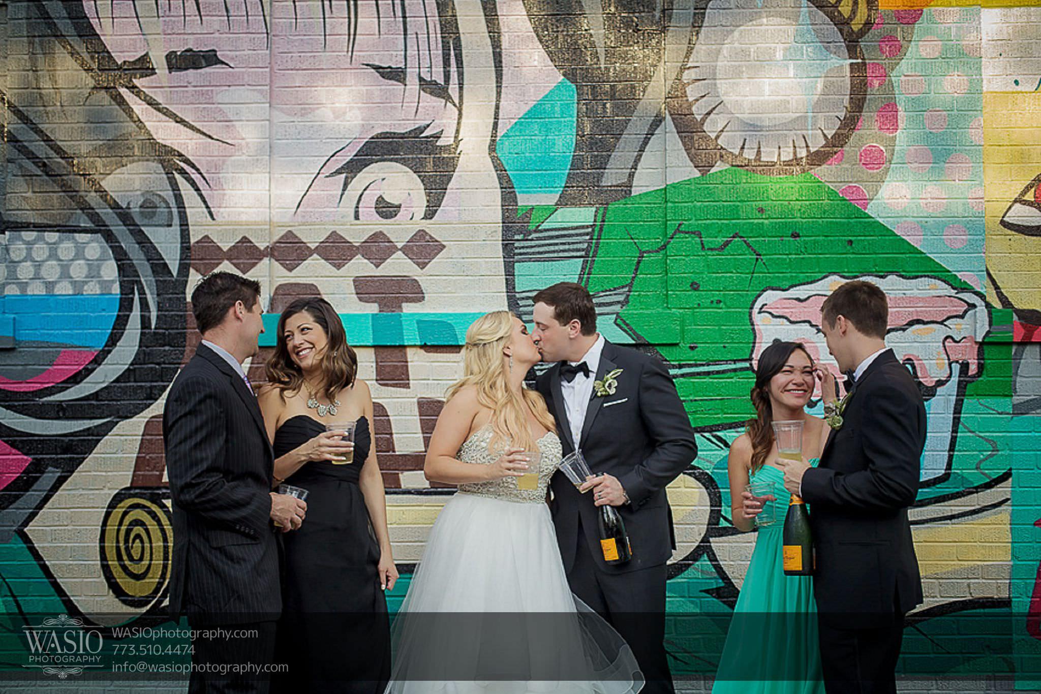 venue-one-chicago-wedding-group-photos-outdoor-65 Venue One Chicago Wedding - Katie + Mike