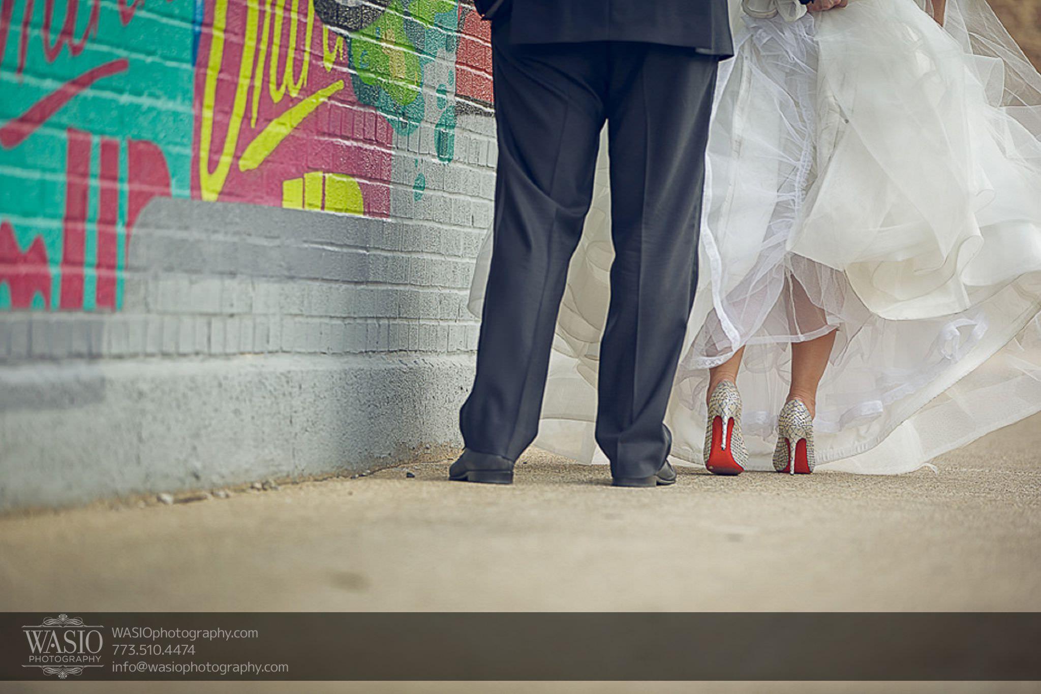 venue-one-chicago-wedding-red-bottoms-louboutin-66 Venue One Chicago Wedding - Katie + Mike