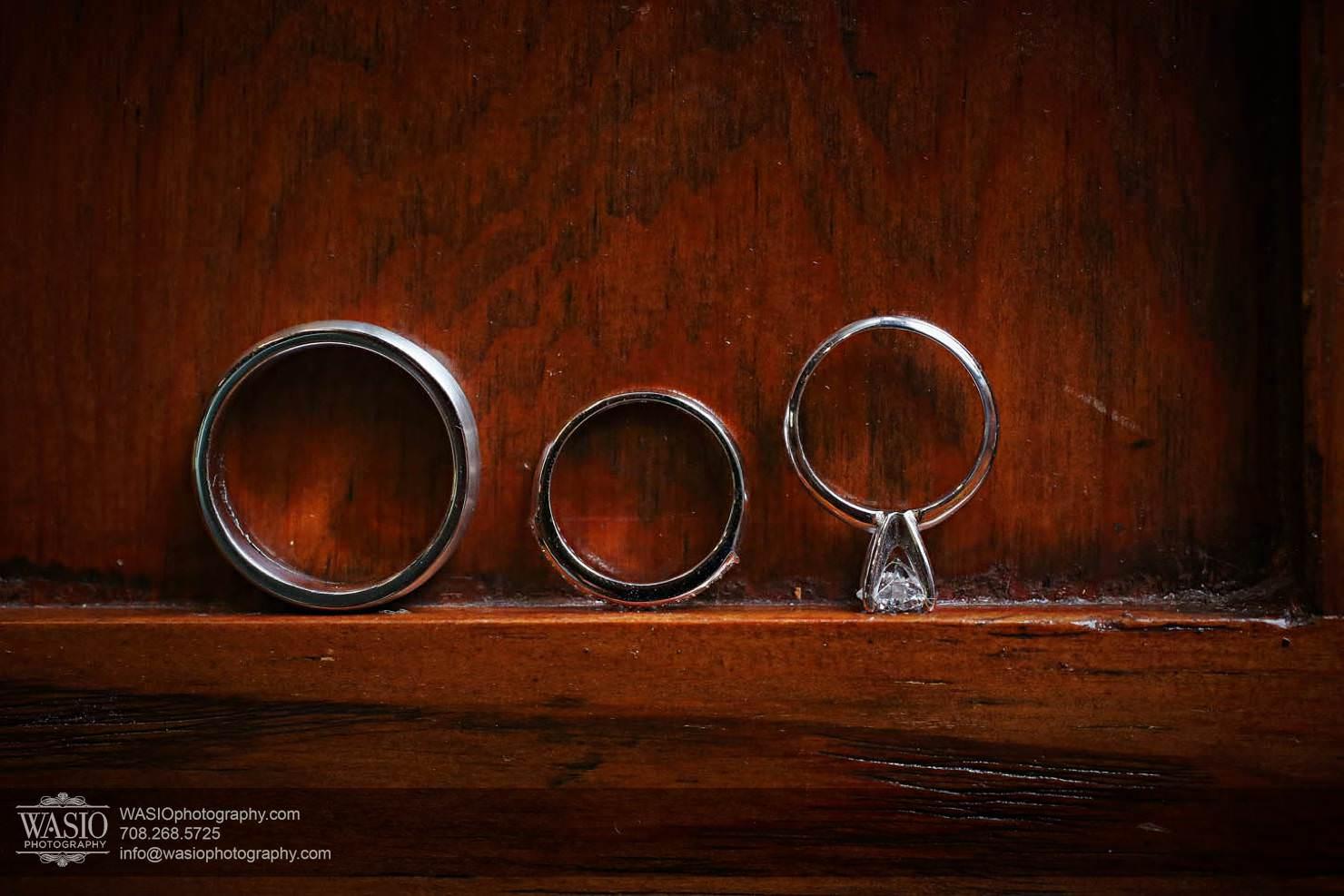 weddin-rings-band Chevy Chase Country Club Wedding - Elizabeth & Michael